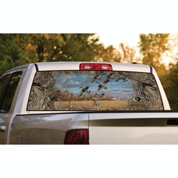 Rear Window Graphics Mossy Oak Graphics - Rear window decals for trucks canada