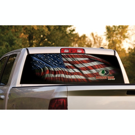 Rear Window Graphics Mossy Oak Graphics - Rear window hunting decals for trucksgeese scenery sticker for rear window hunting decals for trucks