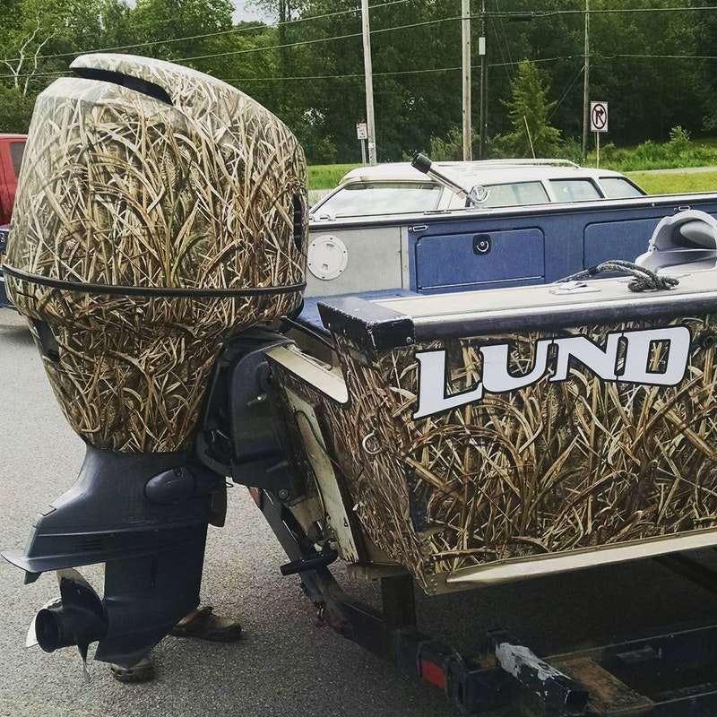 Camo Outboard Cover Tinboats Net