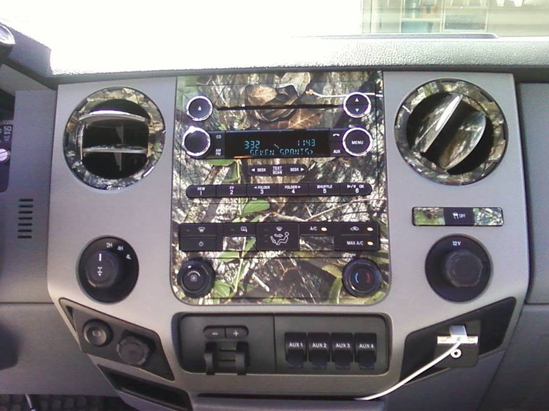 Camo Dash Kits, Camouflage Dash Covers | Mossy Oak Graphics