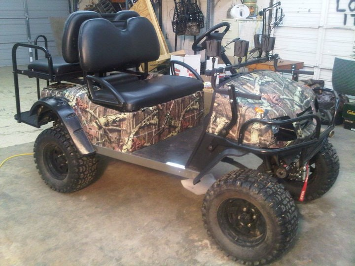 Mossy Oak Breakup Camo Wallpaper Camo Golf Cart Wrap, M...