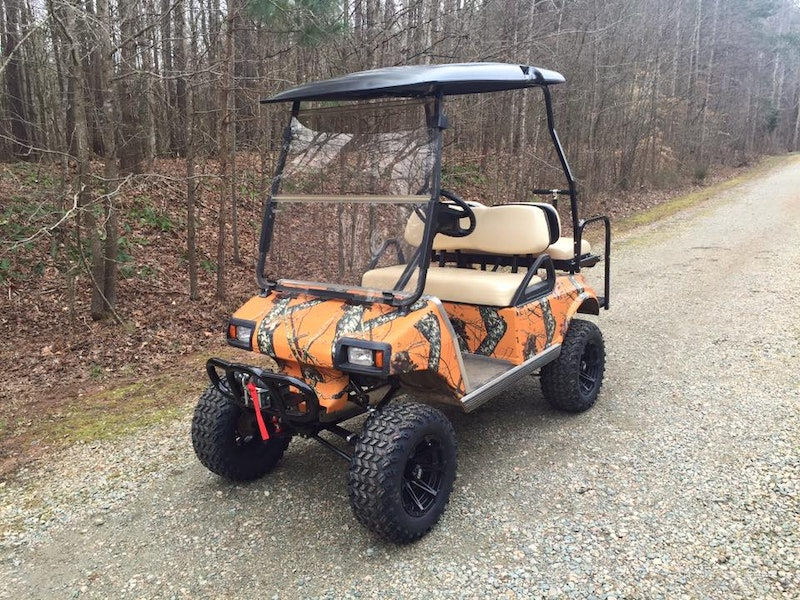 Camo Golf Cart Wrap Mossy Oak Golf Cart Skins Mossy Oak