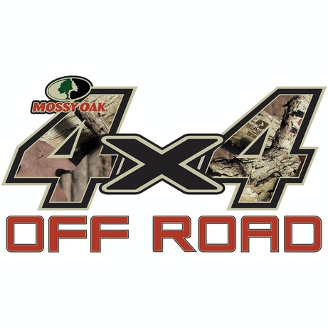 4x4 Off Road Style Mossy Oak Camo Decal Mossy Oak Graphics